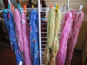 Skeins in production